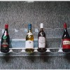 An unobstrusive wine rack designed to keep your wine look tidy without the heavy bulk of most rack systems